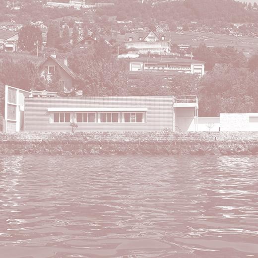Kleine Villa am Genfer See