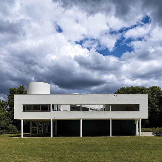Villa Savoye und Gärtnerhaus